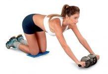 Упражнения для пресса с роликом в домашних условиях