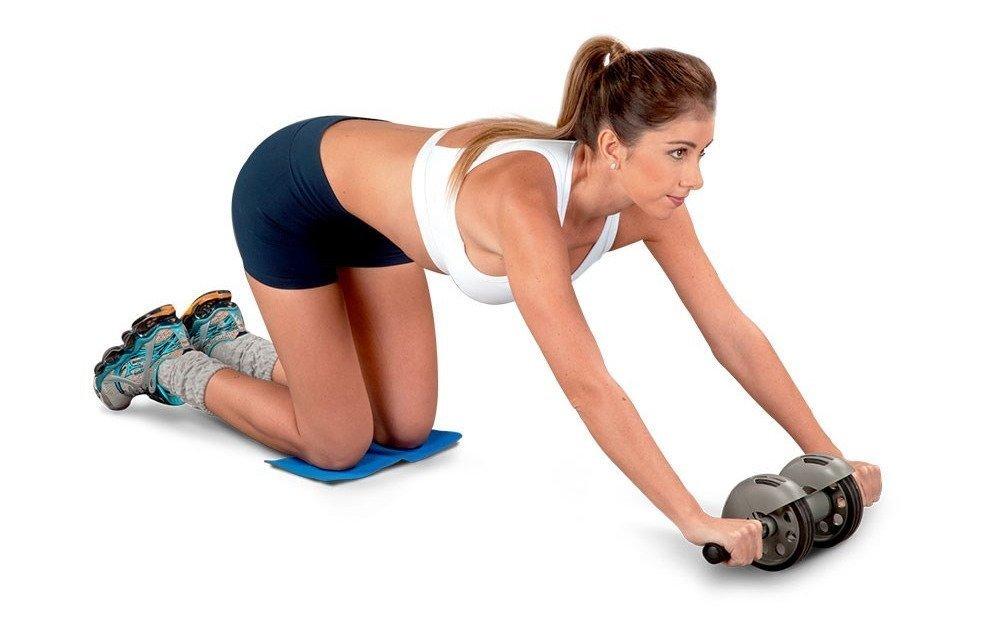 Ролик для пресса - упражнения с роликом для пресса