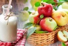 """Диета для похудения """"3 дня яблоки, 3 дня кефир"""""""