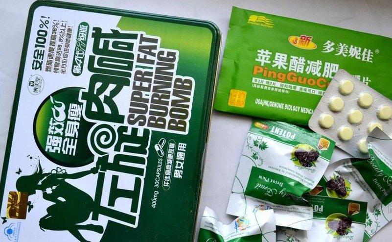 китайские таблетки для похудения