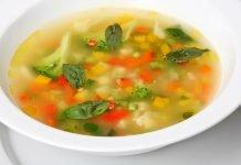 Диета Боннский суп — меню на неделю