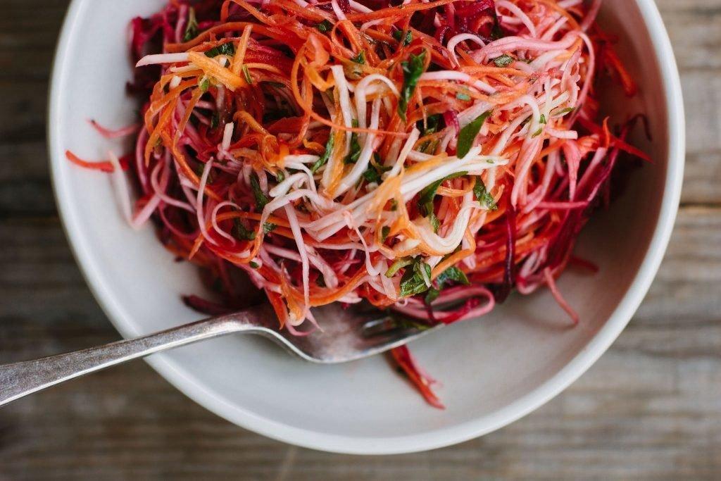 Салат для похудения из свеклы вареной