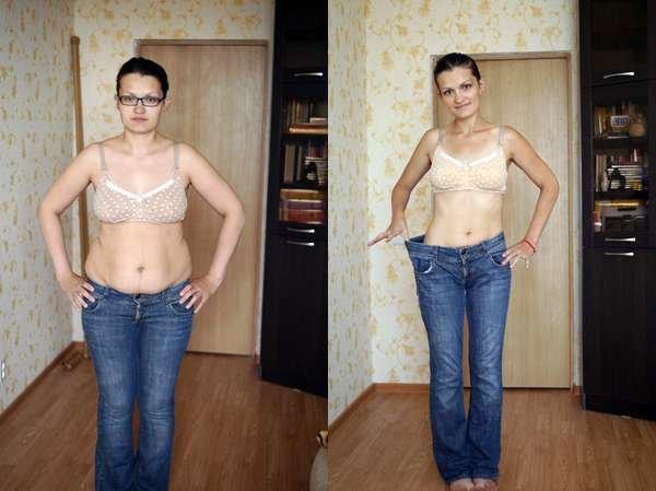 раздельное питание до и после фото