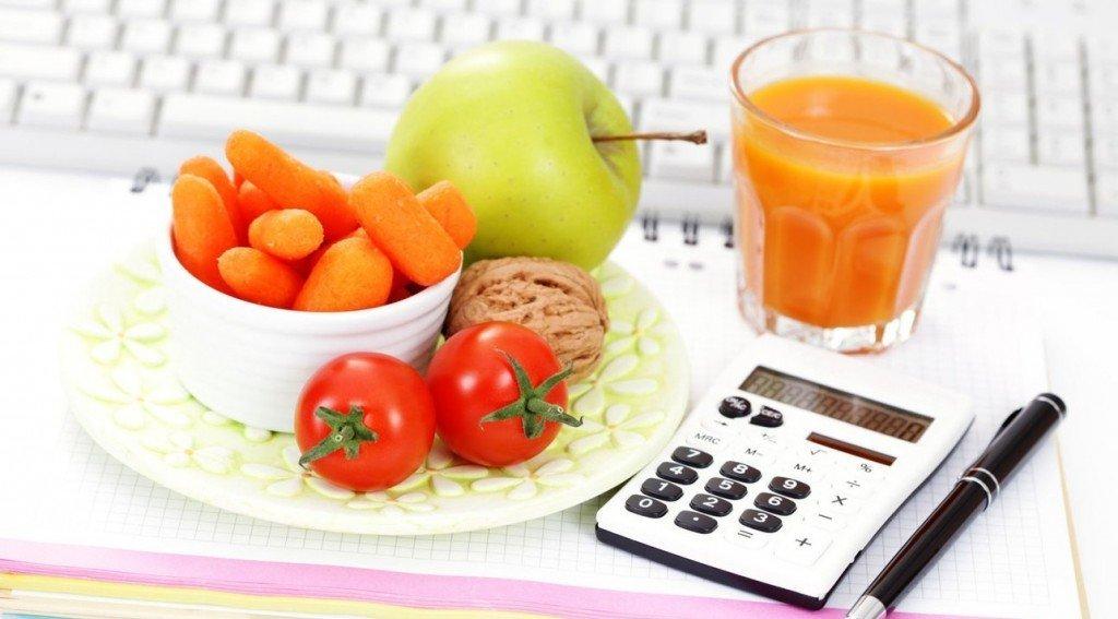 расчет калорий продуктов для похудения калькулятор онлайн