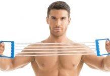 Упражнения для грудных мышц с эспандером