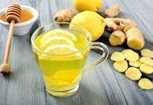 Рецепт чая с имбирем и лимоном для похудения