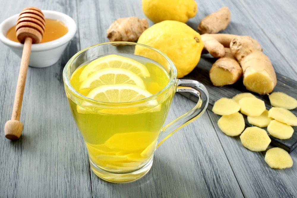 Имбирь лимон напиток для похудения