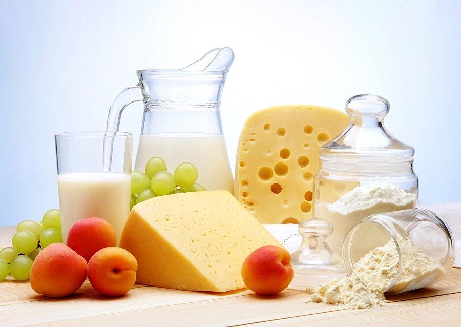 Диета без мяса и кисломолочных продуктов