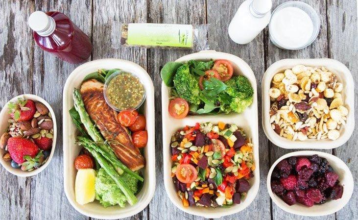 Правильное питание для снижения веса - меню на каждый день