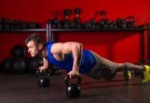 Тренировочный комплекс упражнений с гирями в домашних условиях