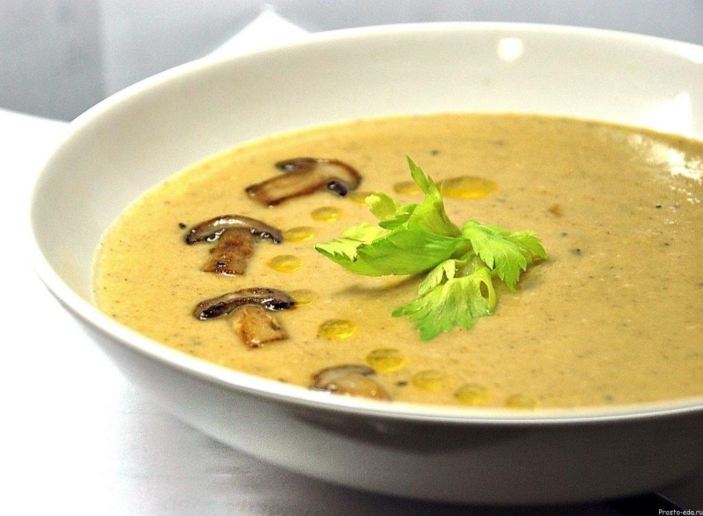 Как правильно приготовить суп из шампиньонов