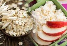 Диета трех продуктов — овсянка, творог, яблоко