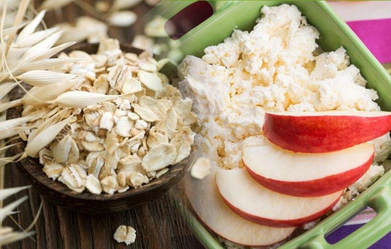 Диета Яблочная Творожная. Диета на яблоках, твороге и овсянке — за неделю 7 кг