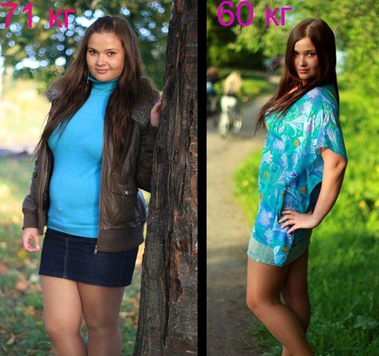 Магги до и после