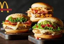Таблица калорийности блюд сети питания McDonalds