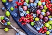 Ягоды — таблица калорийности