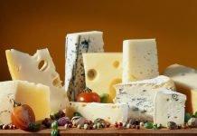 Таблица «Калорийность сыров и творога»