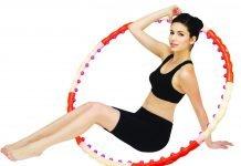 Упражнения с обручем для похудения живота и боков