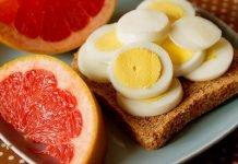 Как придерживаться яично-грейпфрутовой диеты 4 недели?