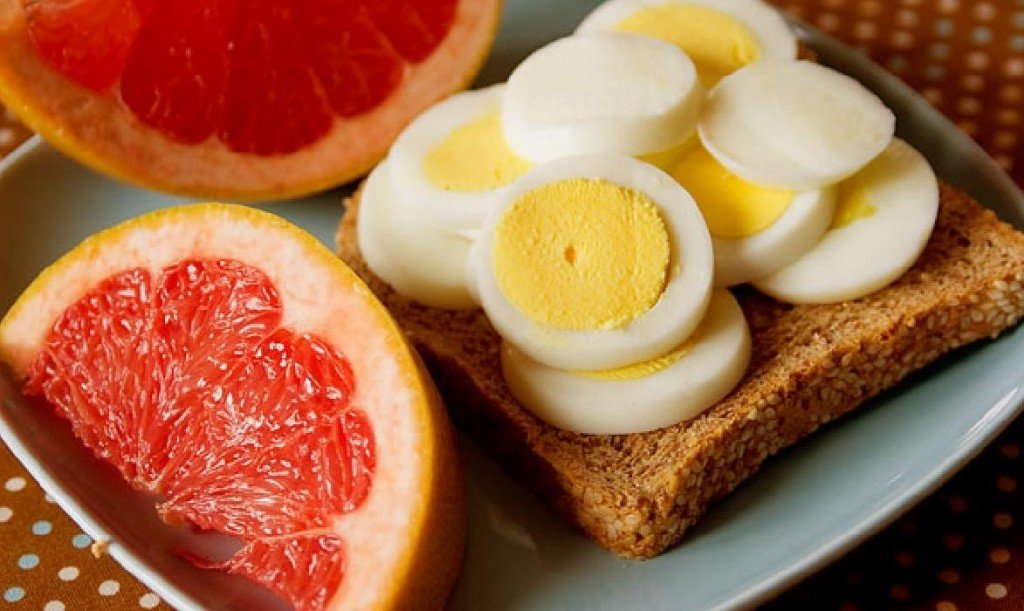 Яично грейпфрутовая диета на 4 недели