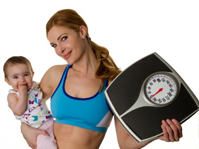 How to lose weight quickly after delivery