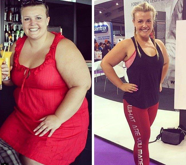 Девушки сильно похудели