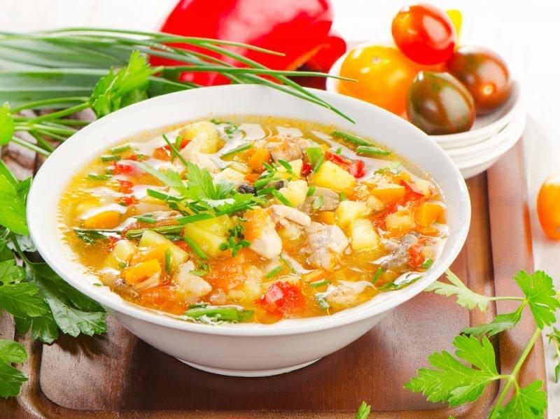 Диета овощной суп твоя диета
