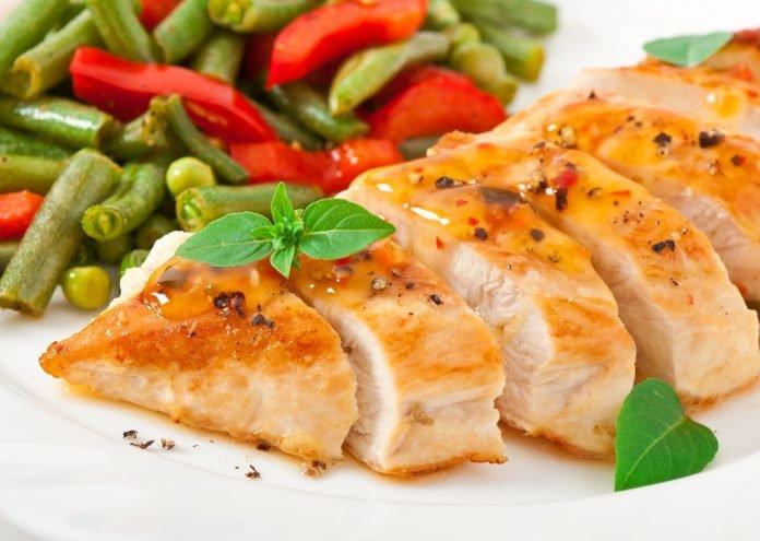 Диета на гречке и куриной грудке меню