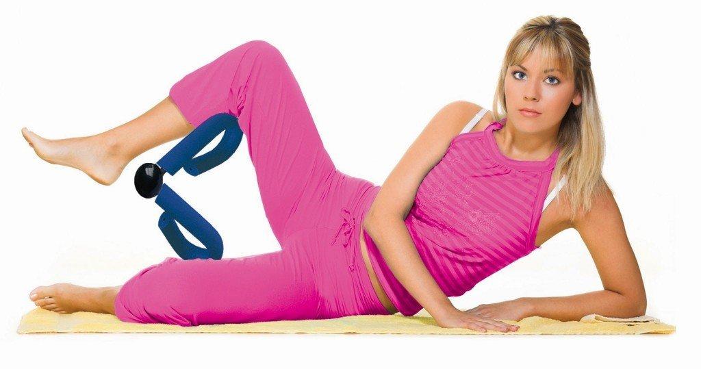 Упражнения с эспандером для женщин в домашних условиях