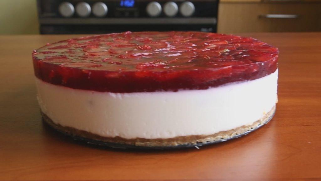 Торт с суфле и желе рецепт пошагово