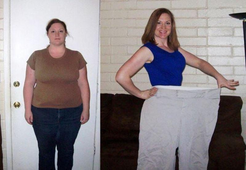 фото до и после похудения реальные