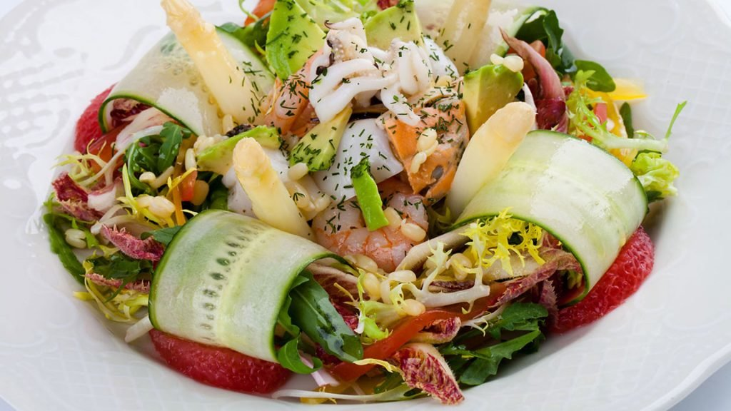Тёплые салаты рецепты для ресторана