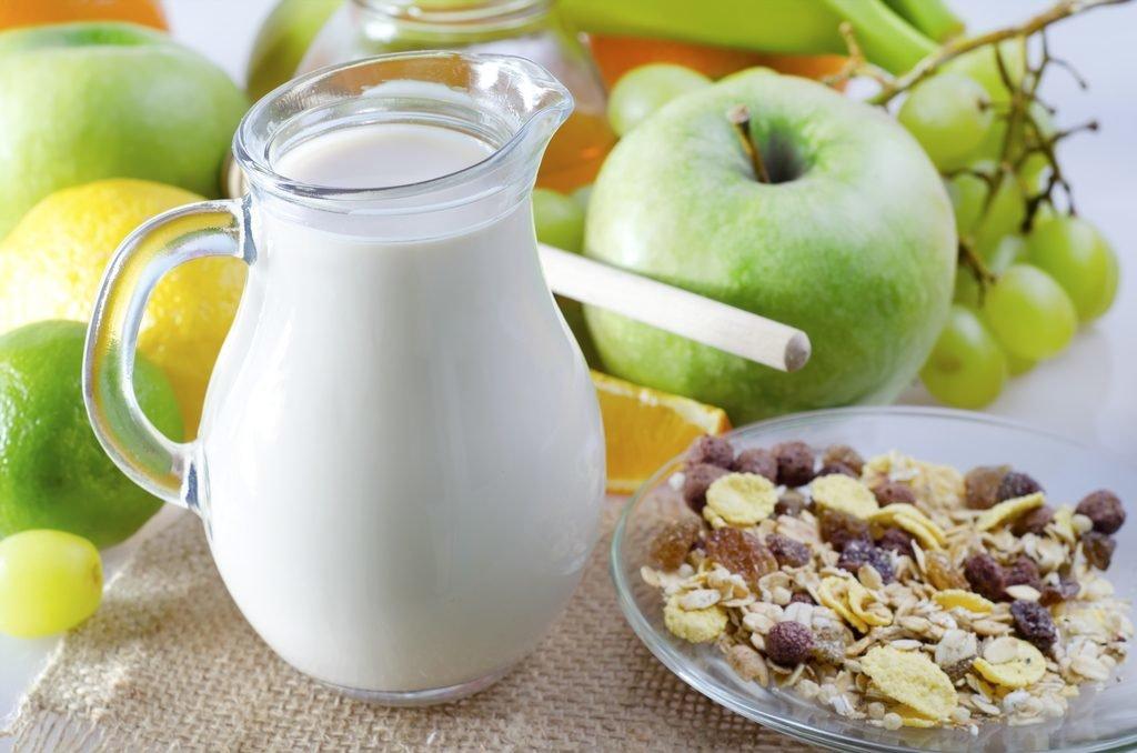 ефективность диеты на кефире с яблоками
