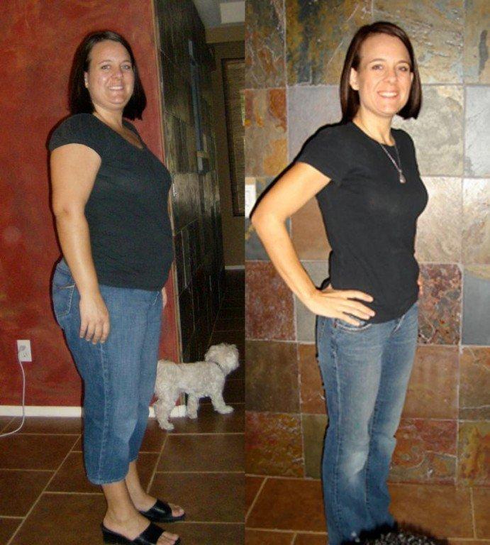До и после похудения - Fishkinet