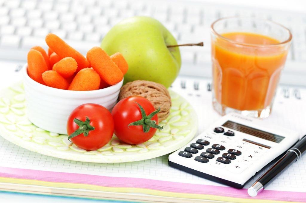 Диета калории онлайн
